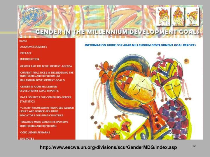 http://www.escwa.un.org/divisions/scu/GenderMDG/index.asp