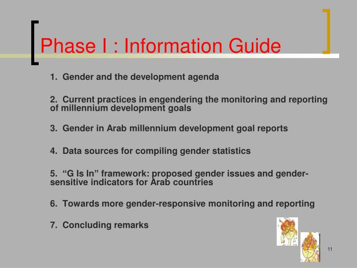 Phase I : Information Guide