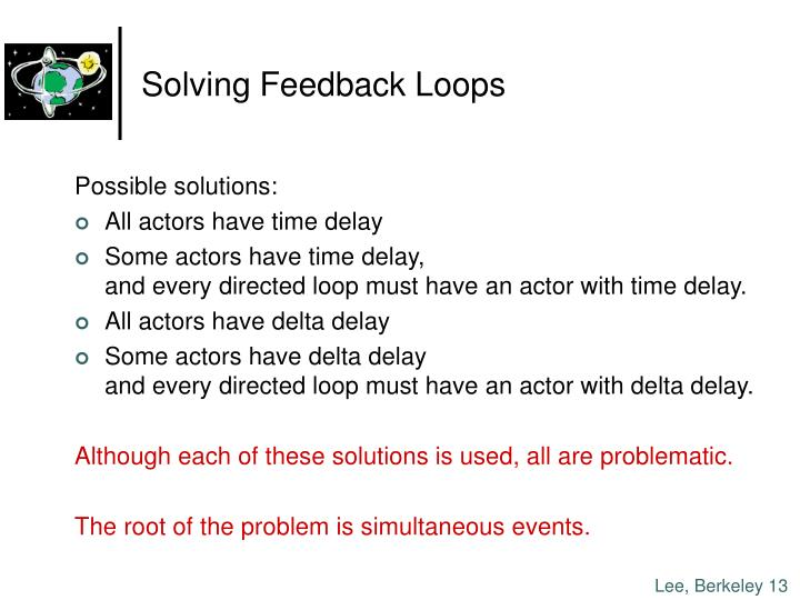 Solving Feedback Loops