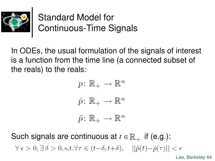 Standard Model for