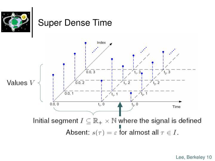 Super Dense Time