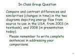 in class group question