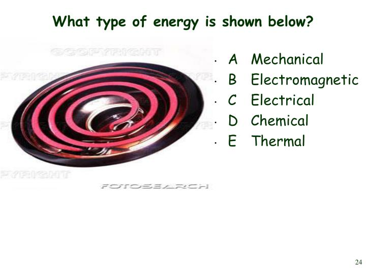 What type of energy is shown below?