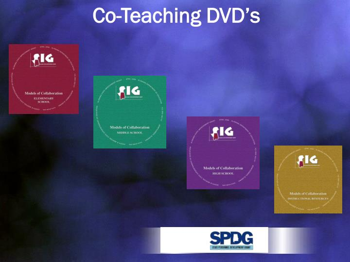 Co-Teaching DVD's