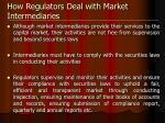 how regulators deal with market intermediaries1