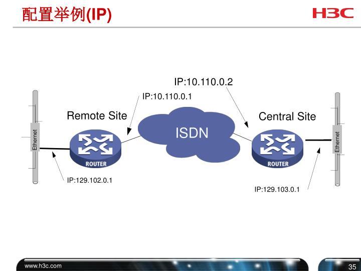 IP:10.110.0.2