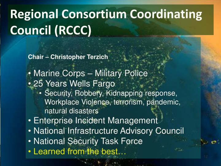 Regional Consortium Coordinating Council (RCCC