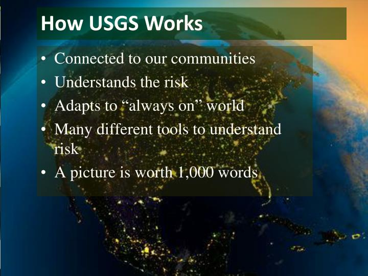 How USGS Works