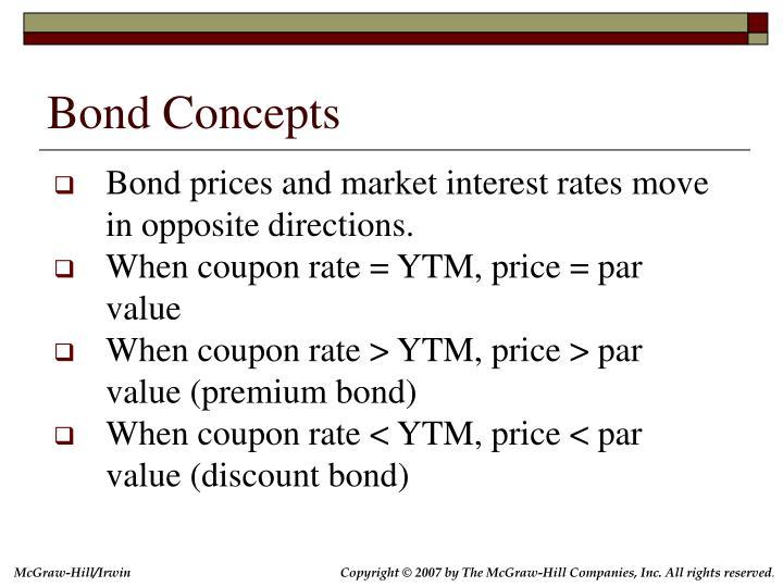 Bond Concepts