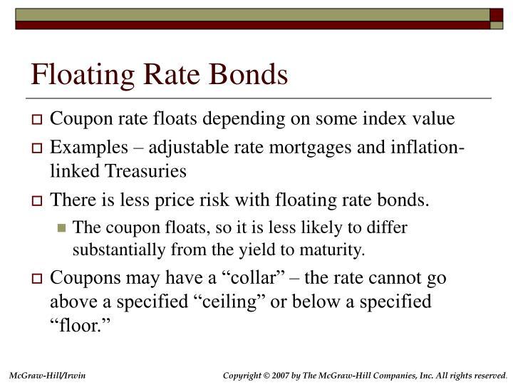 Floating Rate Bonds