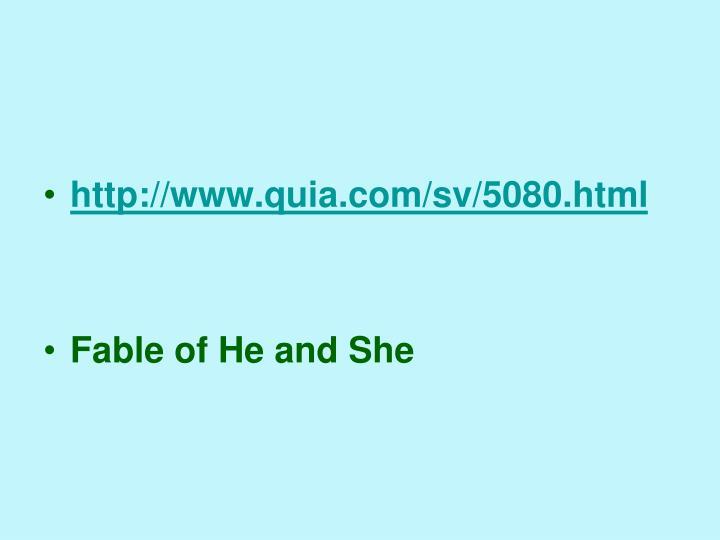 http://www.quia.com/sv/5080.html