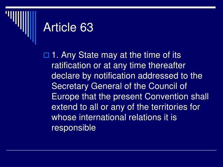 Article 63