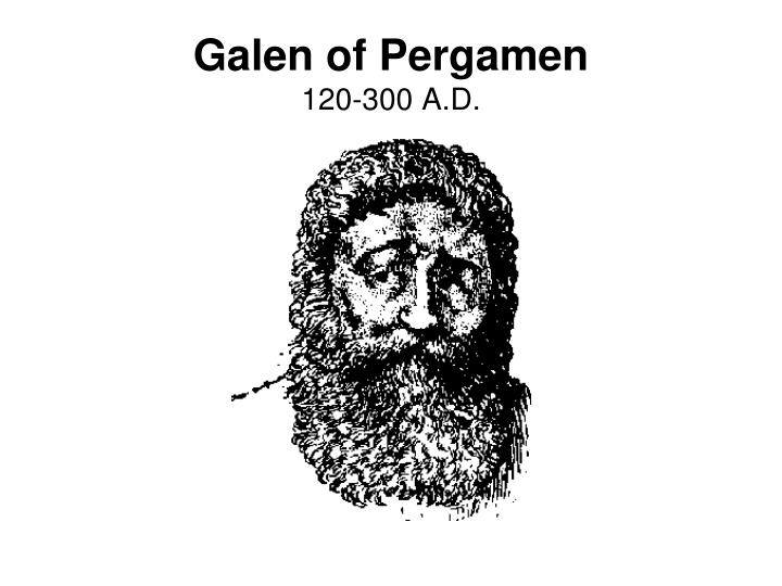 Galen of Pergamen