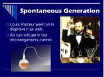 spontaneous generation1