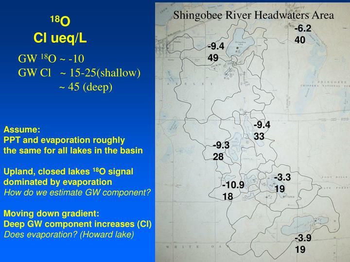 Shingobee River Headwaters Area