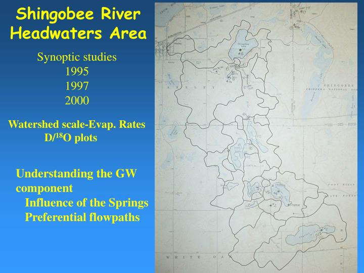 Shingobee River
