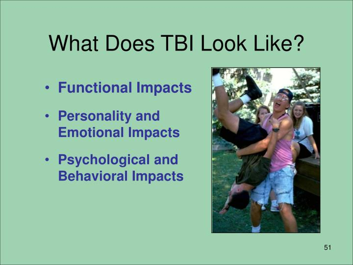 What Does TBI Look Like?