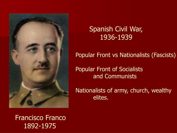 Spanish Civil War,