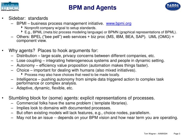 BPM and Agents