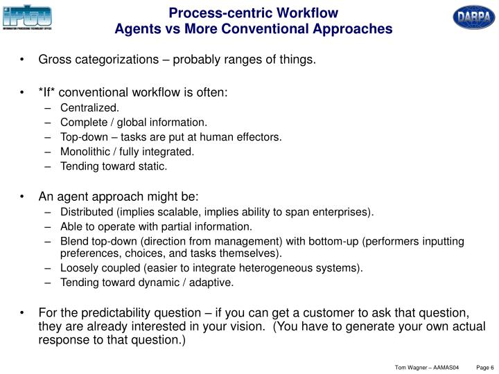 Process-centric Workflow
