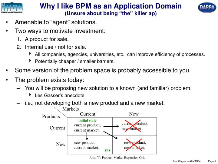 Why I like BPM as an Application Domain