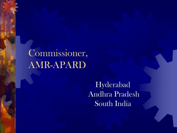 Commissioner,