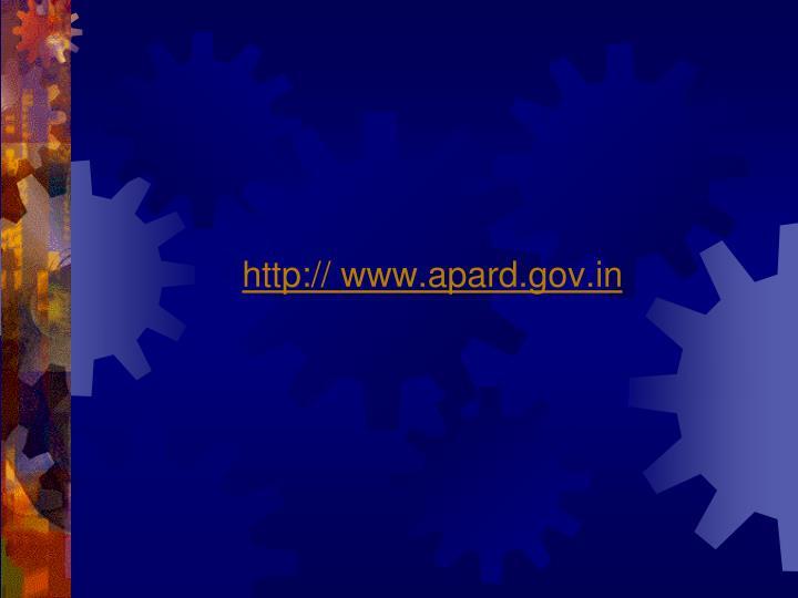 http:// www.apard.gov.in