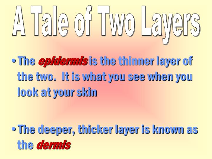 A Tale of Two Layers