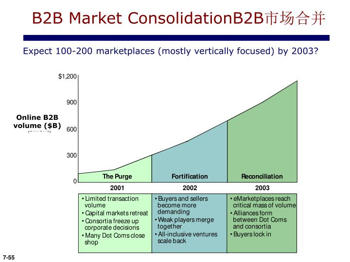 B2B Market ConsolidationB2B