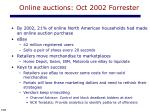 online auctions oct 2002 forrester