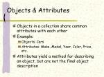 objects attributes1