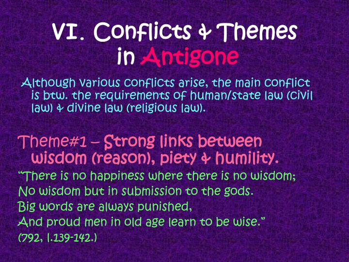 conflict in antigone essays Antigone and creon conflict essays days n i have no clue what i'm writing about wharton full time mba essays poets related post of antigone and creon.