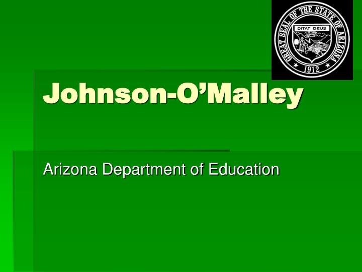 Johnson-O'Malley