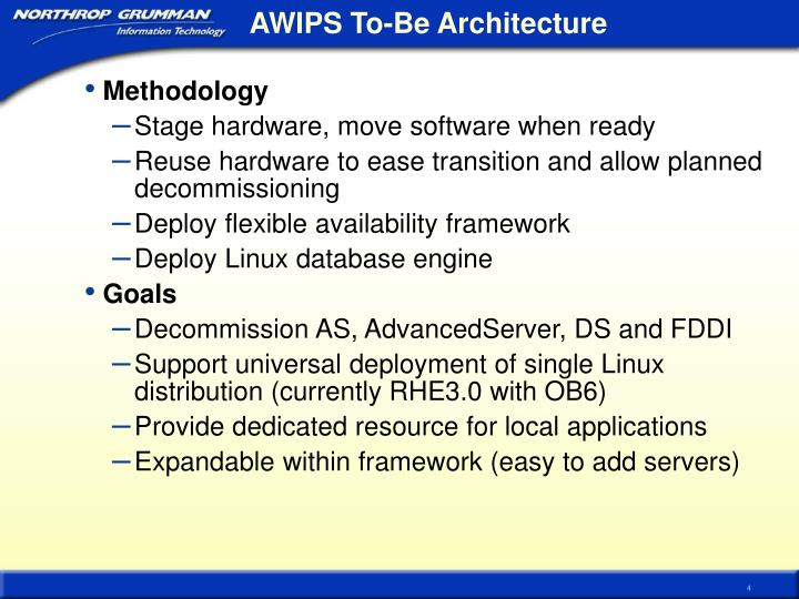 AWIPS To-Be Architecture
