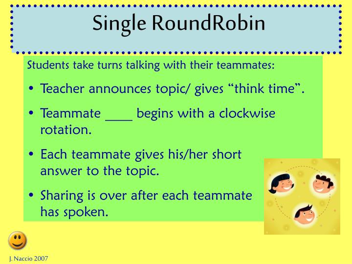 Single RoundRobin