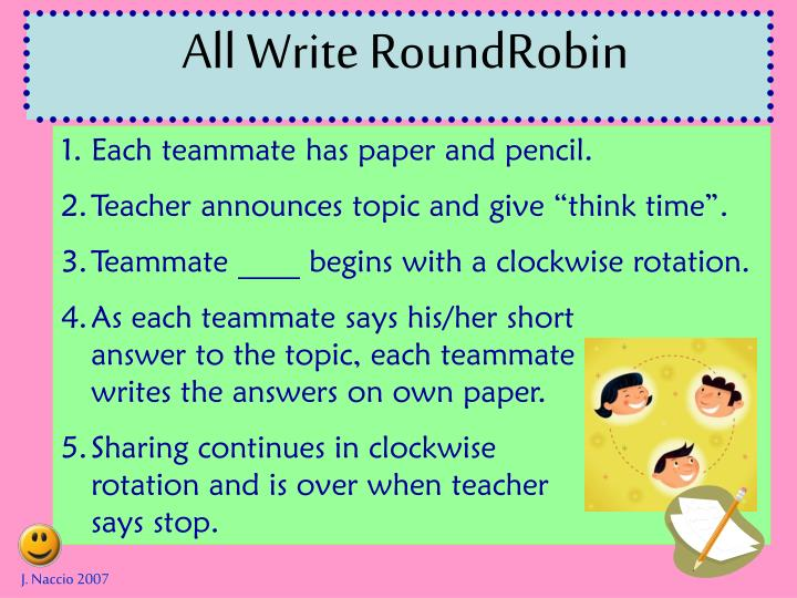 All Write RoundRobin