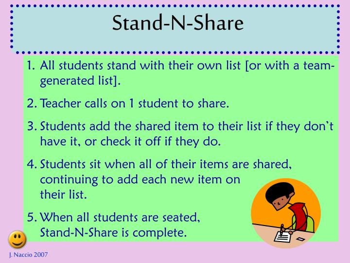 Stand-N-Share
