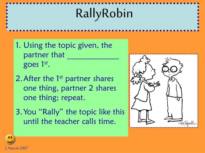 RallyRobin