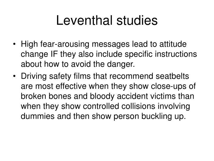 Leventhal studies