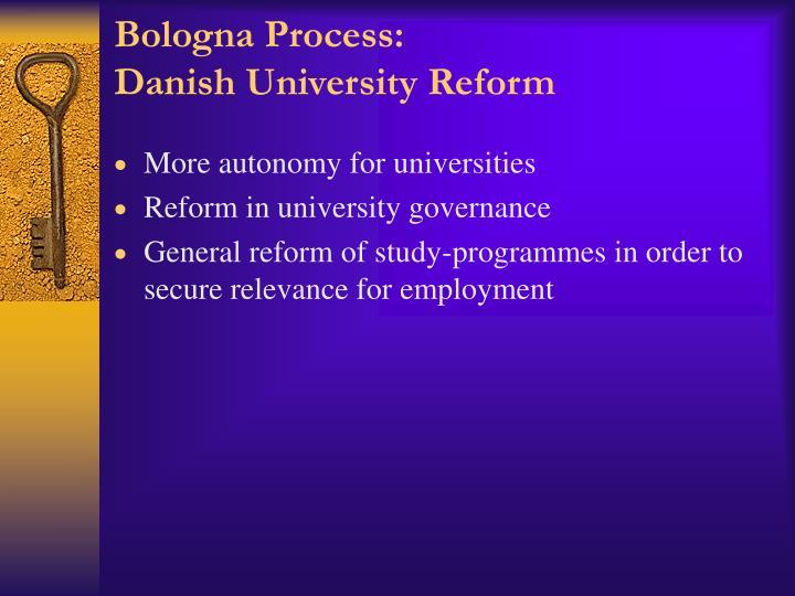 Bologna Process: