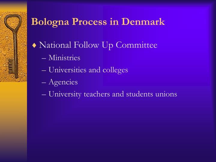 Bologna Process in Denmark