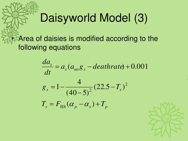 Daisyworld Model (3)