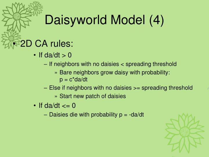 Daisyworld Model (4)