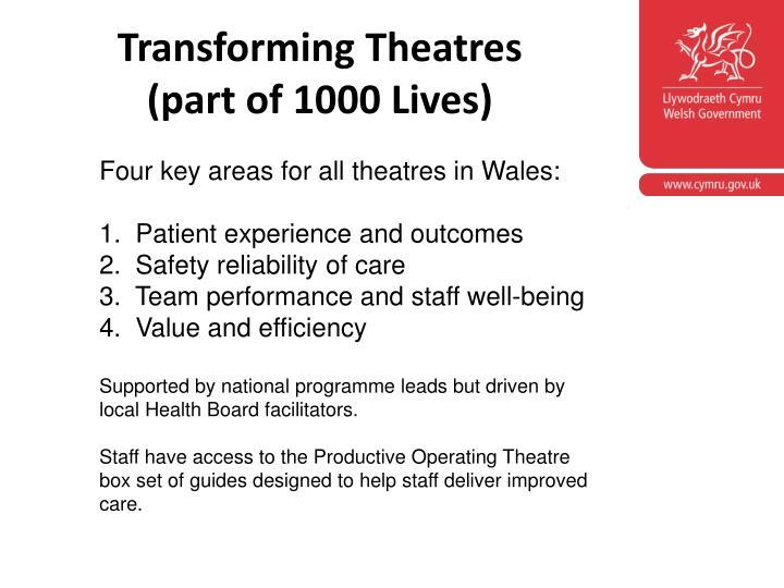 Transforming Theatres