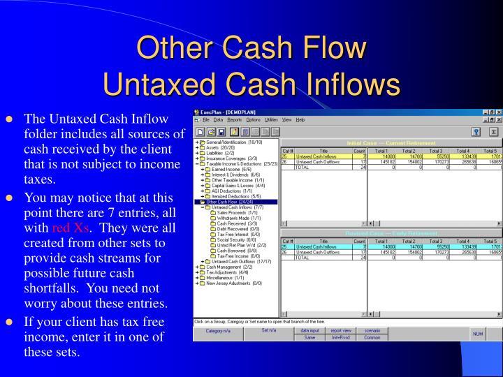 Other Cash Flow