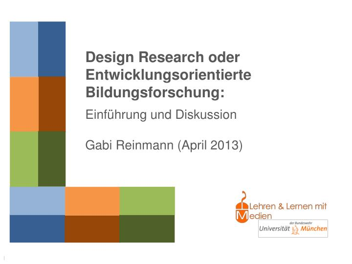Design Research oder