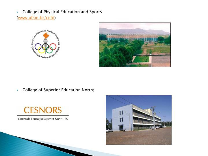 College of Physical Education and Sports