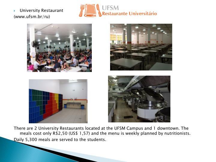 University Restaurant