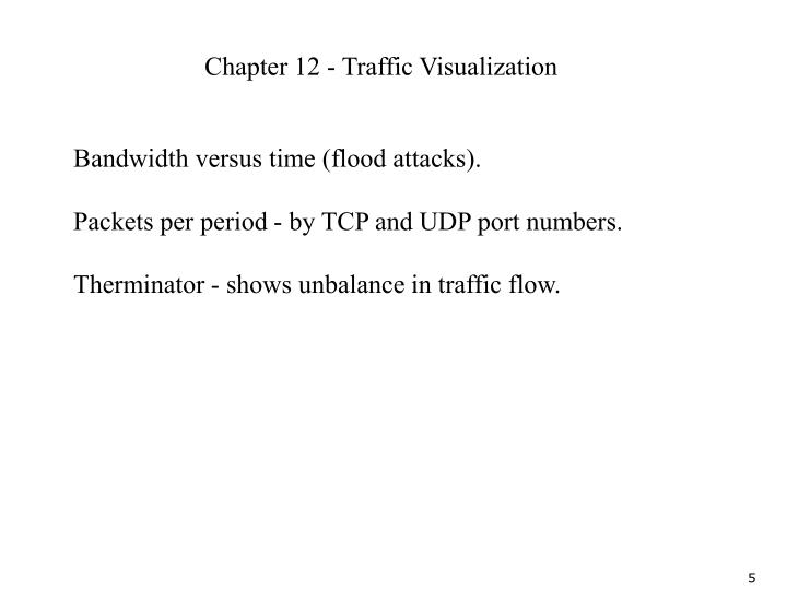 Chapter 12 - Traffic Visualization