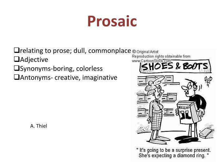 Prosaic
